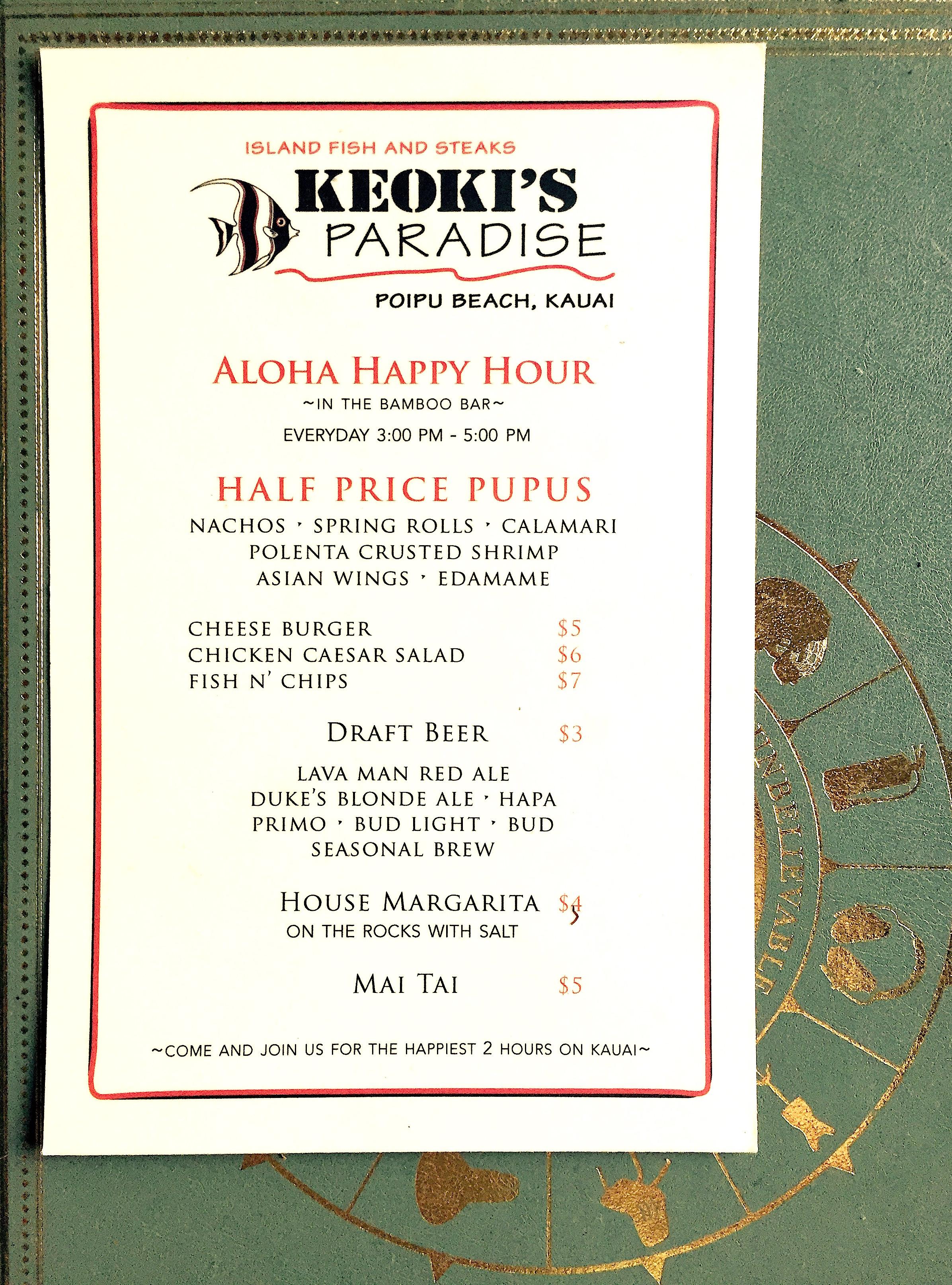 Keoki S Paradise Related Restaurants